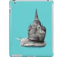 The Snail's Dream (Monochrome) iPad Case/Skin