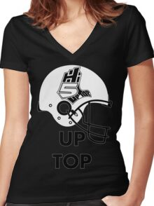 Hi-5 Up Top Women's Fitted V-Neck T-Shirt