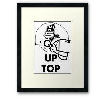 Hi-5 Up Top Framed Print