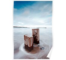 Pier and Posts Poster