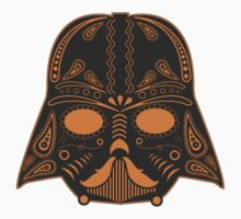 El Vader - gray/orange T-Shirt