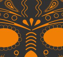 El Vader - gray/orange Sticker