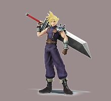 Super Smash Brothers: Cloud Strife (Final Fantasy) by thememeshop