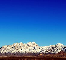 Organ Mountains by Nalehua  Wise-Hurst