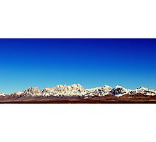 Organ Mountains Photographic Print