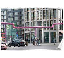 Potsdamer Platz Streets Poster