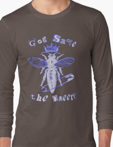 God Save The Queen BW Long Sleeve T-Shirt