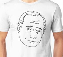Putin line drawing  Unisex T-Shirt