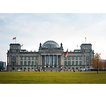 reichstag facade Photographic Print