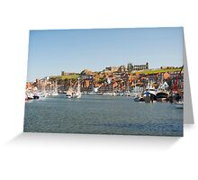 river esk whitby Greeting Card