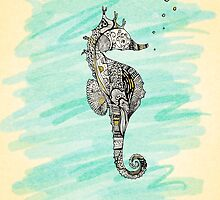 seahorse by Madelyn Stewart