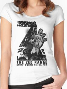 The ZED - RANGE official TEE Women's Fitted Scoop T-Shirt