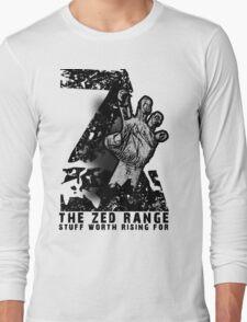 The ZED - RANGE official TEE Long Sleeve T-Shirt