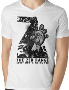 The ZED - RANGE official TEE Mens V-Neck T-Shirt