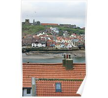 tiled roof tops Poster