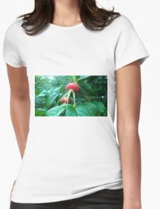 Large Plant Womens Fitted T-Shirt