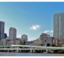 Brisbane and the Riverside Expressway , Qld, Australia Sticker