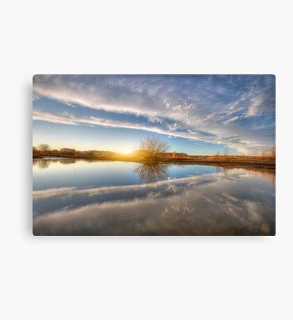 Between Clouds Canvas Print