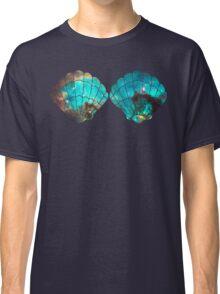 Green Galaxy Mermaid (V-Neck) Classic T-Shirt