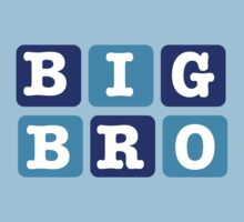 Big Bro Blocks Kids Tee