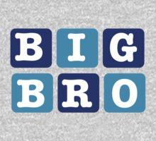 Big Bro Blocks One Piece - Long Sleeve