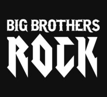 Big Brothers Rock! Kids Clothes