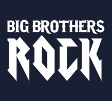 Big Brothers Rock! One Piece - Short Sleeve
