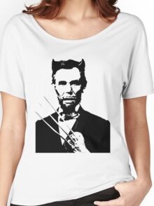 Presidential Men - Abe (The Wolverine) Women's Relaxed Fit T-Shirt