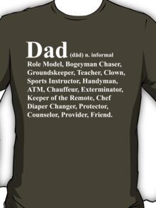 Funny Dad Definition T-Shirt