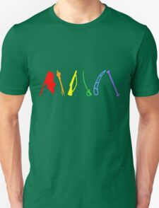 Marching Arts Rainbow  Unisex T-Shirt