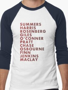 Buffy The Vampire Slayer All Business Surnames Men's Baseball ¾ T-Shirt
