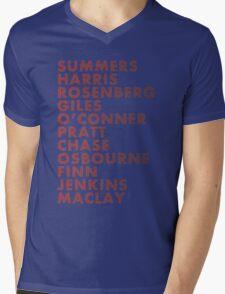 Buffy The Vampire Slayer All Business Surnames Mens V-Neck T-Shirt