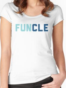 Funcle Uncle Women's Fitted Scoop T-Shirt
