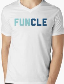 Funcle Uncle Mens V-Neck T-Shirt