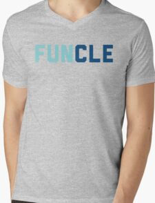Funcle Uncle Mens V-Neck T-Shirt