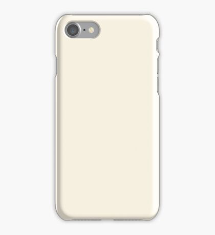 PURE COLOR-OLD LACE iPhone Case/Skin