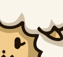 Quantum Sheep Temporal Defender Sticker