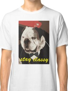 Stay classy with a tux Classic T-Shirt