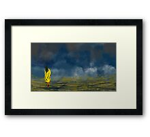 Clouds' Daughter Framed Print