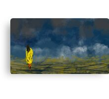 Clouds' Daughter Canvas Print