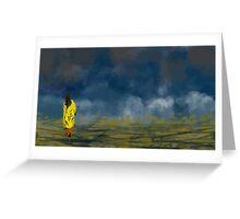 Clouds' Daughter Greeting Card