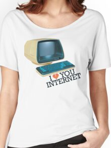 Internet Retro Love Women's Relaxed Fit T-Shirt