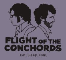 Flight of The Conchords Eat Sleep Folk by aliendist