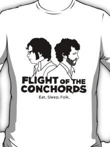 Flight of The Conchords Eat Sleep Folk T-Shirt
