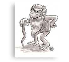 Cranky Kong Canvas Print