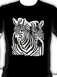 Flight of The Conchords Zebra T-Shirt