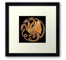 House Kaiju Framed Print