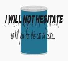 I Will Not Hesitate... - DayZ Sticker by SargeMac