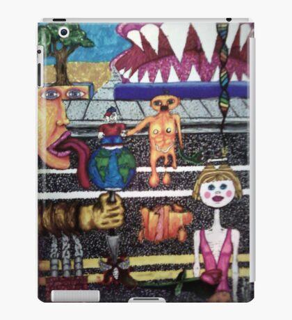 Life on the Street of Suburbia iPad Case/Skin