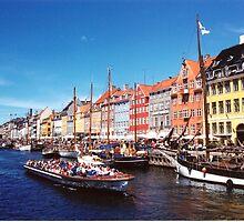 Nyhavn, Denmark by Margaret  Hyde